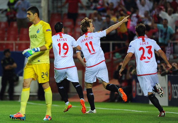 Sevilla 4-1 Porto (Agg 4-2): Ten-man hosts secure stunning victory