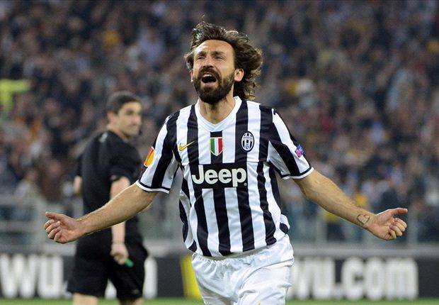 Juventus 2-1 Olympique Lyonnais (Agg 3-1): Pirlo and Marchisio on target as Bianconeri seal semifinal spot