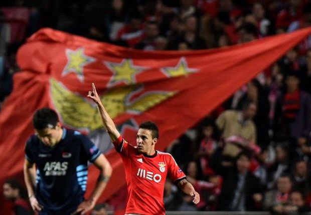 Benfica 2-0 AZ (Agg 3-0): Rodrigo double eases Eagles into final four