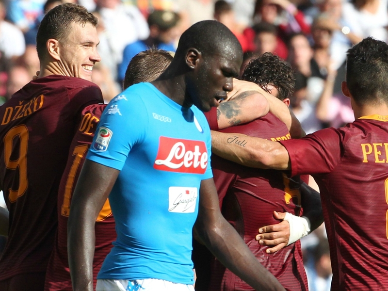 Naples - AS Roma 1-3, Un doublé de Dzeko offre les trois points aux Giallorossi