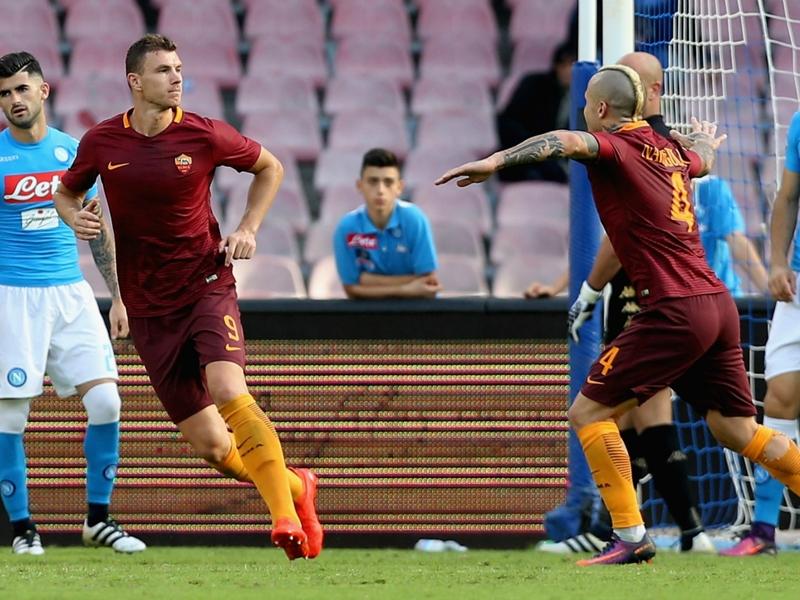 """Dzeko : """"Une victoire cruciale pour la Roma"""""""