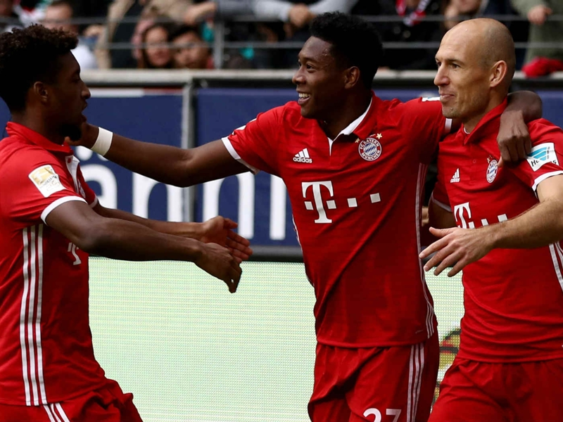 Francfort - Bayern Munich (2-2), le Bayern cale à nouveau
