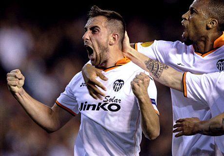 Liga, 2ª - Tris Valencia, Malaga ko