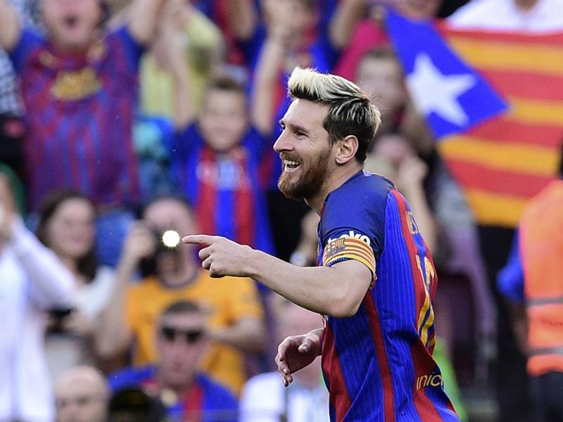 Barça, un nouveau record pour Messi