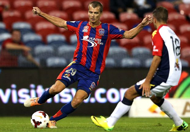 Newcastle Jets 2-0 Adelaide United: Jets keep finals dream alive