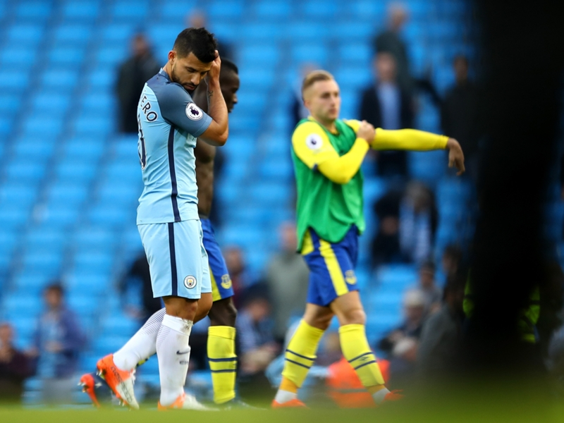 """Manchester City, Koeman : """"Agüero a un blocage psychologique avec les penalties"""""""