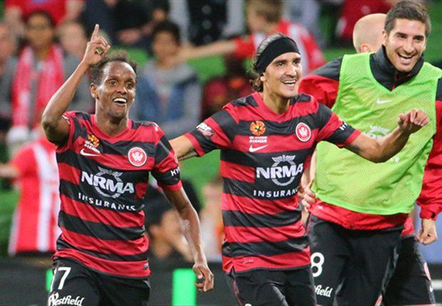 Melbourne Heart 2-3 Western Sydney: Wanderers ruin Kewell farewell