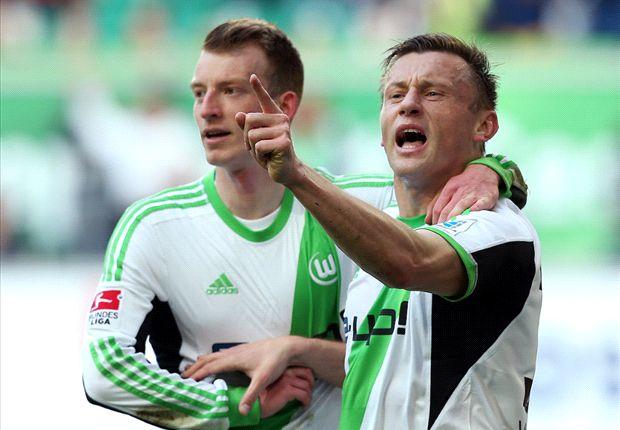 Ivica Olic traf gegen Nürnberg zum Ausgleich nach deren früher Führung