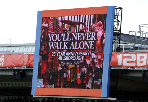 Clubs across England commemorate Hillsborough anniversary