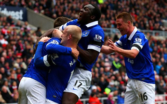 teven Naismith Romelu Lukaku James McCarthy Sunderland Everton Premier League 04122014