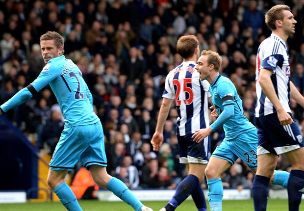 West Brom 3-3 Tottenham: Spurs mount remarkable comeback