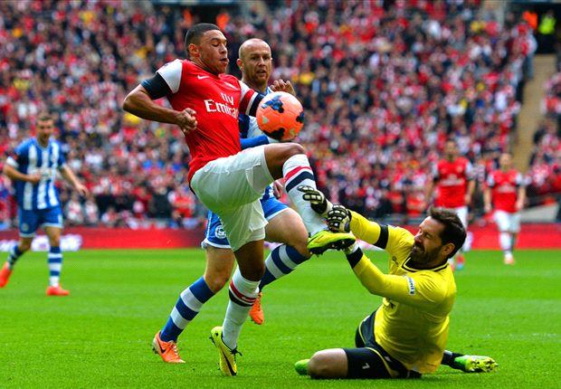Wigan Athletic 1-1 Arsenal (pens 2-4): Cazorla sends Gunners through to final