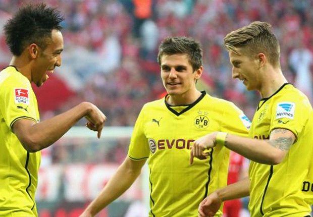 Bayern Munich 0-3 Borussia Dortmund: BVB stun Bayern to salvage Bundesliga pride