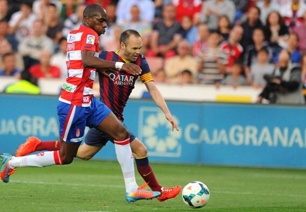 'It hurts to take a backwards step at this point in the season' - Iniesta laments Granada loss