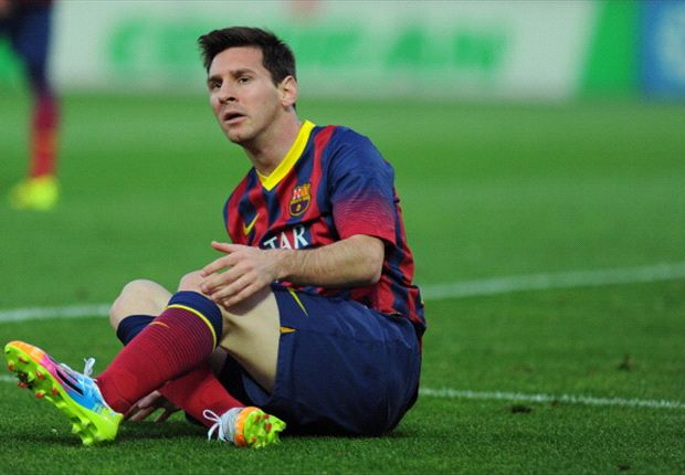 There is nothing wrong with Messi, says Zubizarreta