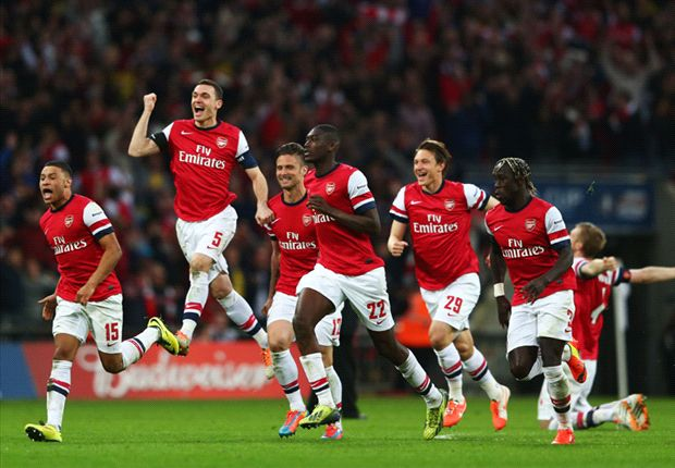 Wigan Athletic 1-1 Arsenal (pens 2-4): Cazorla sends Gunners through to final