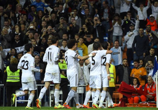 Real Madrid 4-0 Almeria: Bale and Isco on target as Blancos storm back into title contention