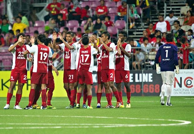 LionsXII clash with leaders Pahang