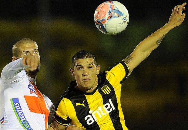 Carlos Núñez anotó el primer gol de Peñarol