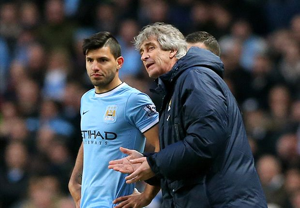 Pellegrini: I would not swap Aguero for Suarez