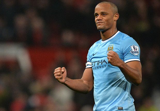 Kompany an injury doubt for Liverpool clash