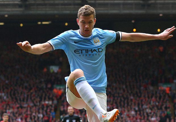 Manchester City to open Dzeko contract talks
