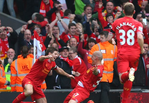 Gerrard delights in 'emotional, statement' Liverpool win
