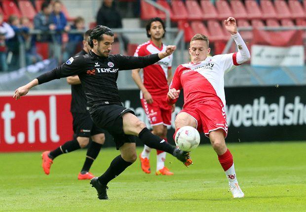 Utrecht speelt zich veilig tegen Heracles