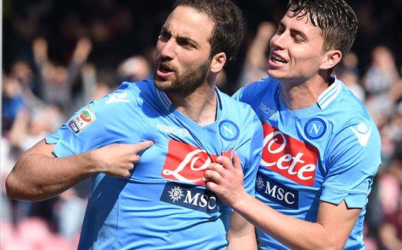 Gonzalo Higuain Napoli Lazio Serie A