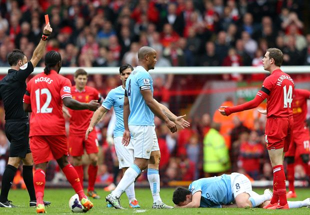 Henderson facing three-match ban after red card against Manchester City