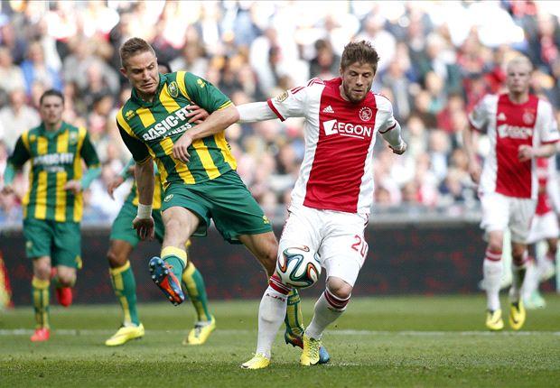 Ajax ondanks zege nog geen kampioen