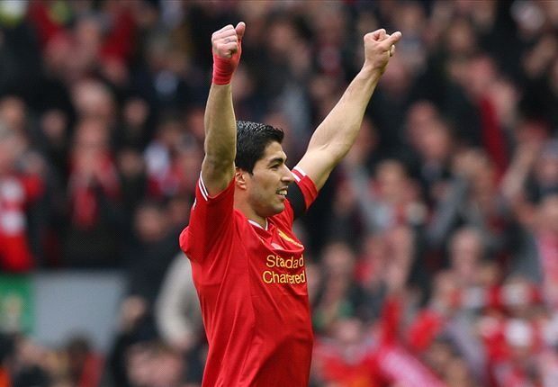 Luis Suarez named Football Writers' Player of the Year