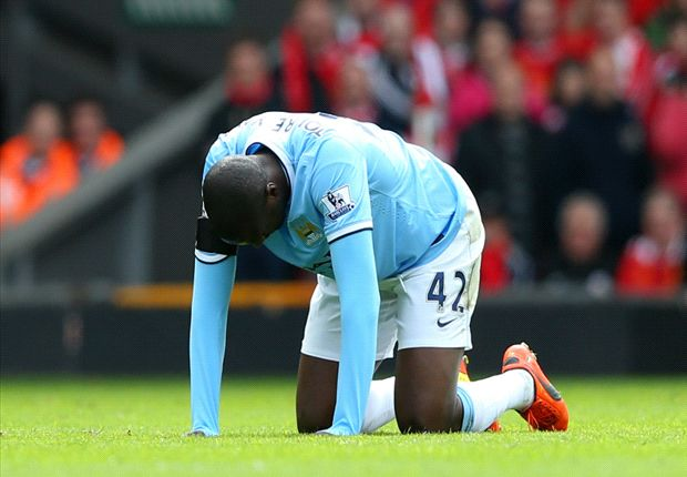Yaya Toure could be out out for two weeks, confirms Pellegrini