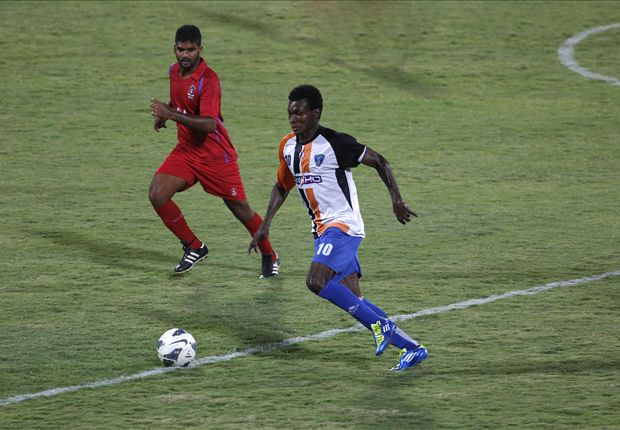 Mumbai FC 4-2 Churchill Brothers SC: Yakubu's hat-trick heaps more misery on the Goan side