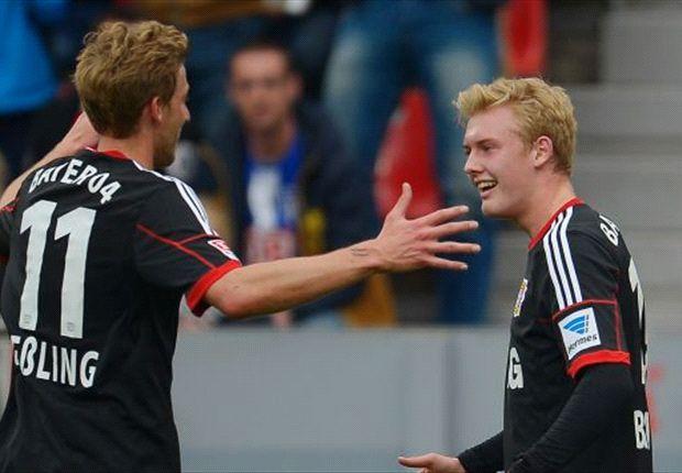 Leverkusen baut auf Knipser Kießling und Talent Brandt