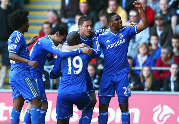Swansea City 0-1 Chelsea: Ba delivers again as Blues keep pace with Liverpool