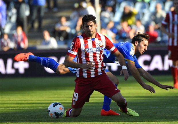 Getafe 0-2 Atletico Madrid: Rojiblancos title charge marred by Costa injury