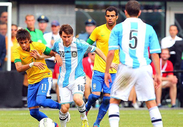 Brasil y Argentina, con Neymar y Messi, dos candidatos a quedarse con la Copa del Mundo.