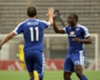 EXTRA TIME: Klate and Brockie exchange compliments