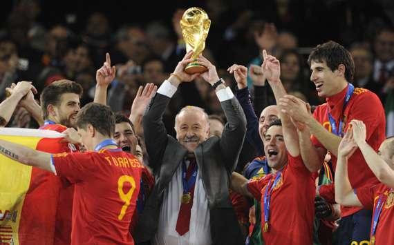 Vincente del Bosque 2010 World Cup