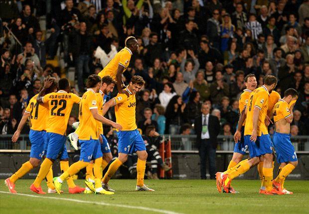 Drei wichtige Punkte im Titelrennen eingefahren: Juventus Turin