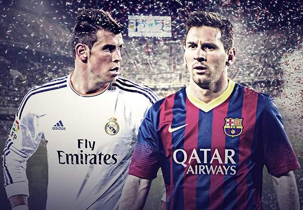 Gareth Bale y Lionel Messi, la imagen de esta Copa del Rey