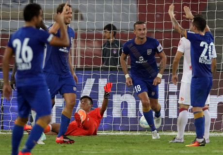Delhi, Mumbai share six goal thriller
