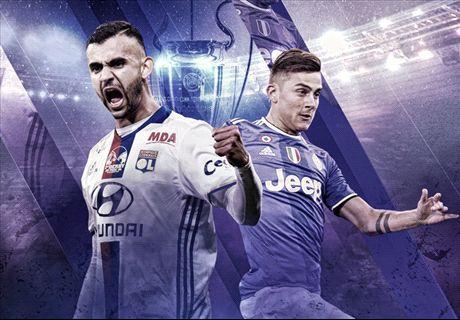 LIVE: Lyon vs Juventus