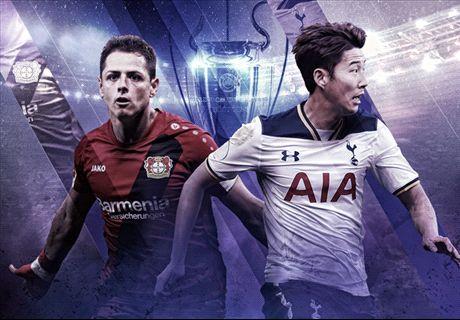 LIVE: Leverkusen vs Tottenham