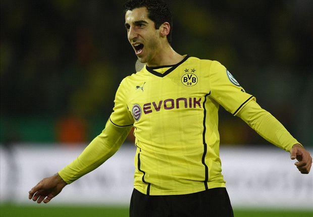 Mkhitaryan: Dortmund not targeting Bundesliga