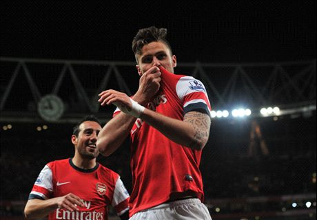 Giroud has regained his credibility, claims Wenger