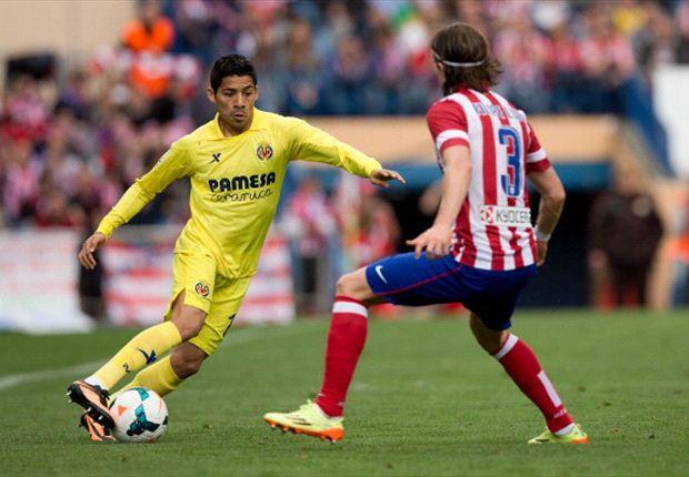 Aquino podría permanecer en el Villarreal para la siguiente temporada.