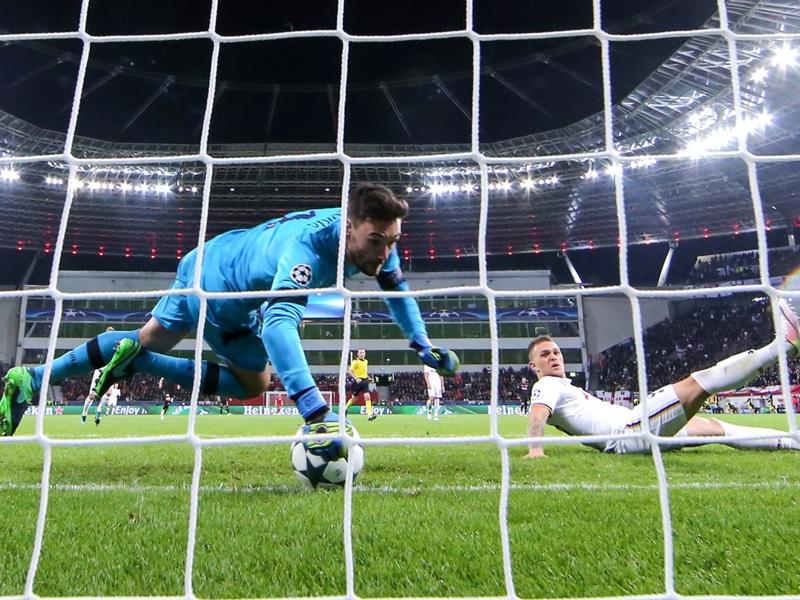 L'incroyable arrêt de Lloris contre Leverkusen sur toutes les lèvres en Angleterre