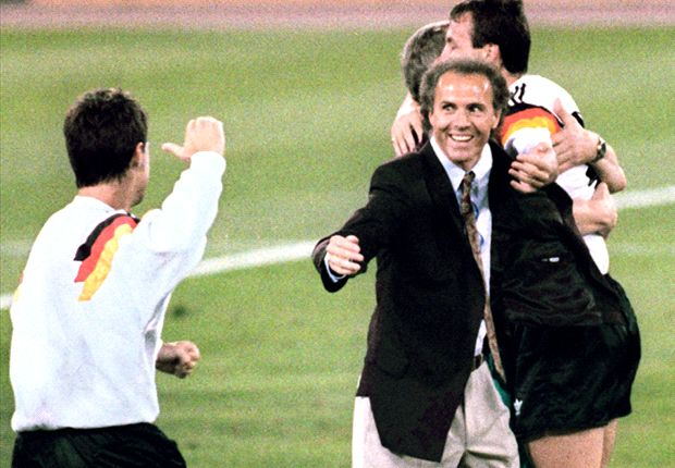 Start Believing: Beckenbauer sings when he's winning